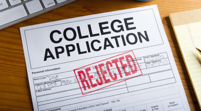 Member View: Change Your Mentality on College Rejection